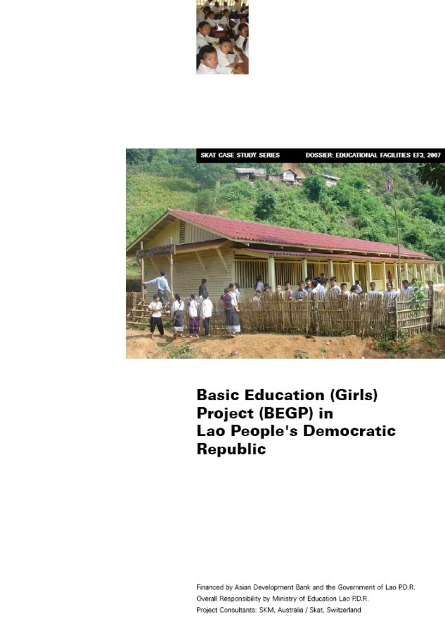 Book Cover: Basic Education (Girls) Project (BEGP) in Laos