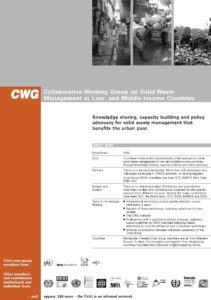 Book Cover: CWG - Collaborative Working Group