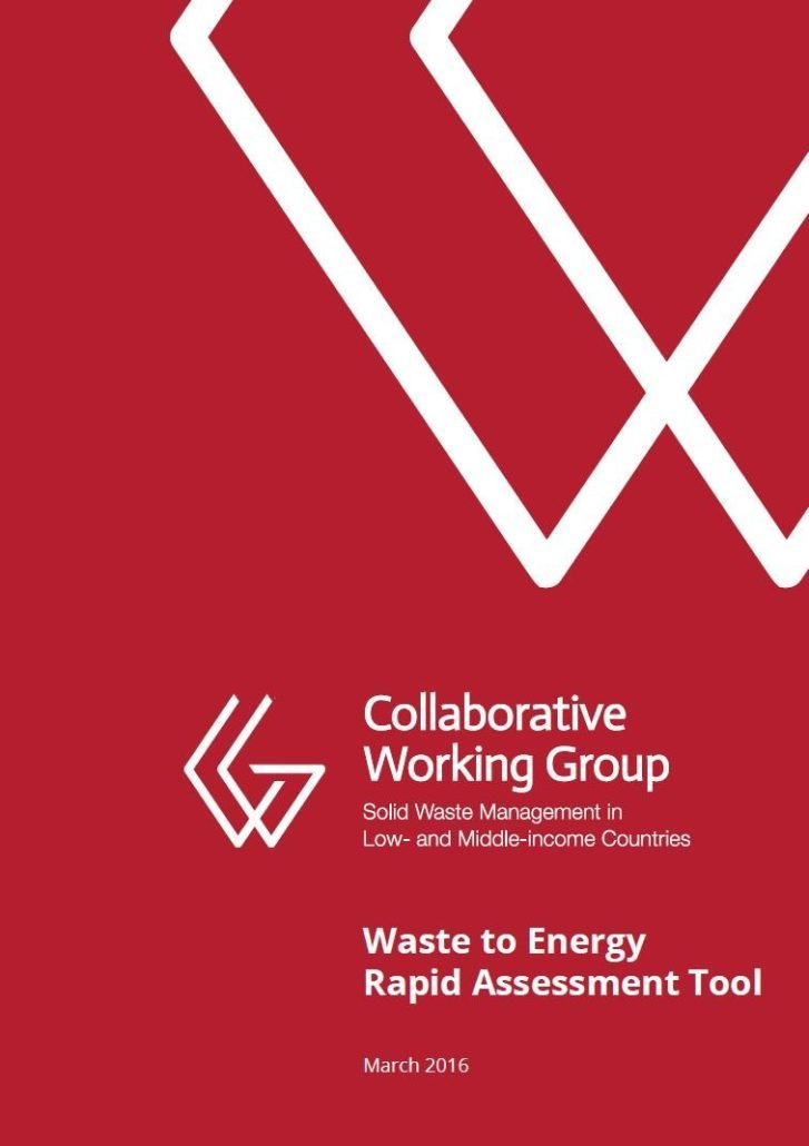 Book Cover: Waste to Energy - Rapid Assessment Tool