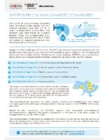 Water Supply in Amalgamated Communities