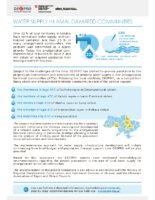 Water Supply in Amalgamated Communities