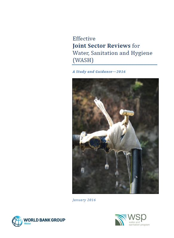 Book Cover: Effective Joint Sector Reviews for WASH