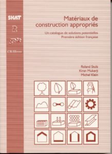 Book Cover: Matériaux de Construction Appropriés (French version)
