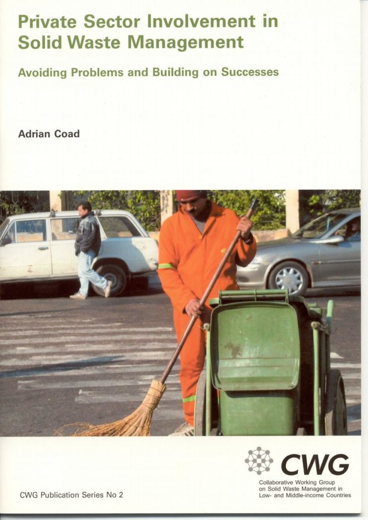 Book Cover: Private Sector Involvement in Solid Waste Management