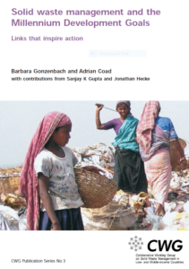 Book Cover: Solid waste management and the Millennium Development Goals