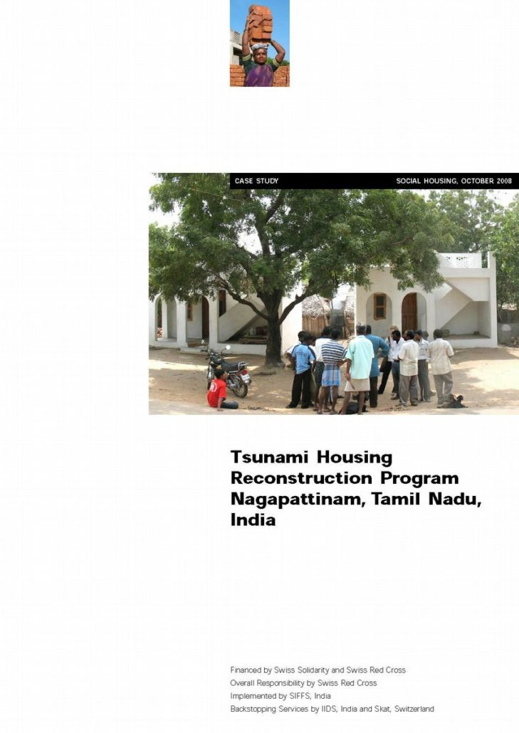 Book Cover: Tsunami Housing Reconstruction Program Nagapattinam