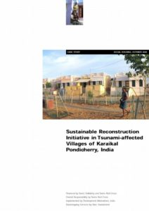 Book Cover: Sustainable Reconstruction Initiative in Tsunami-affected