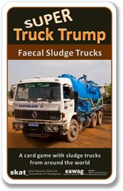 Book Cover: Super Truck Trump: Faecal Sludge Trucks