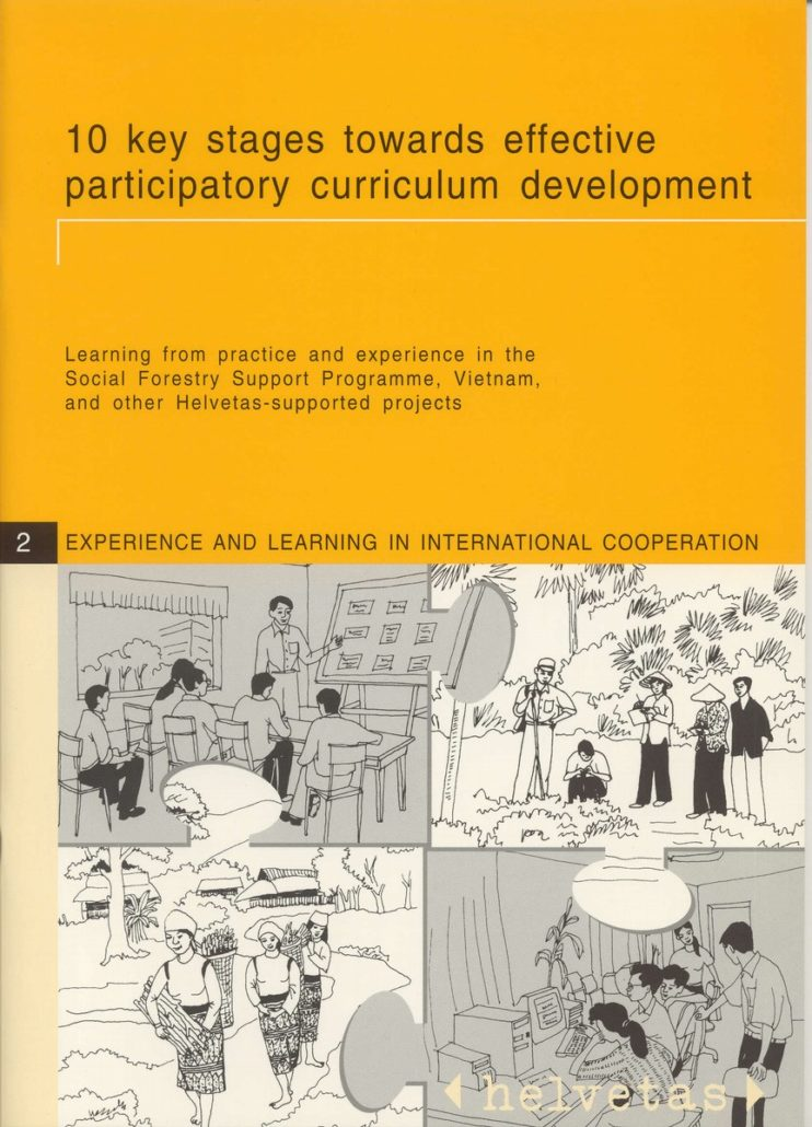 10 key stages towards effective participatory curriculum