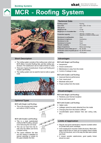 Book Cover: Building Systems Leaflets