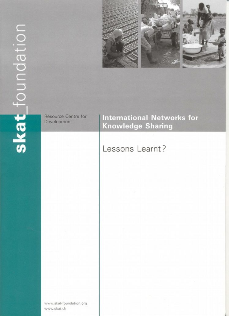 Book Cover: International Networks for Knowledge Sharing