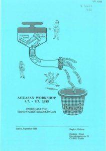 Book Cover: Unterhalt von Trinkwasserversorgungen