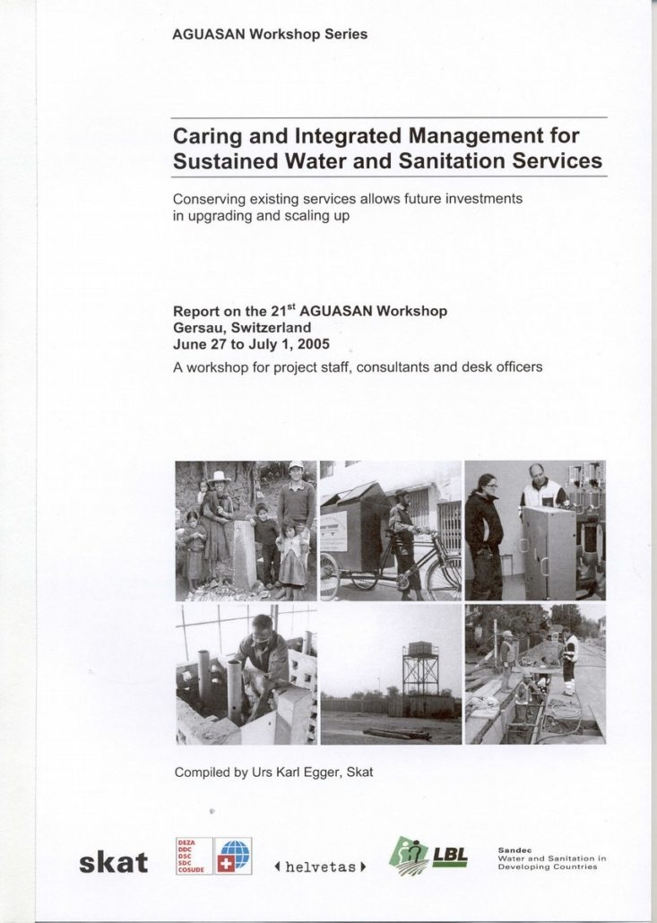 Book Cover: Caring and Integrated Management for Sustained Water and Sanitation Services
