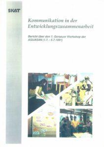 Book Cover: Kommunikation in der Entwicklungszusammenarbeit
