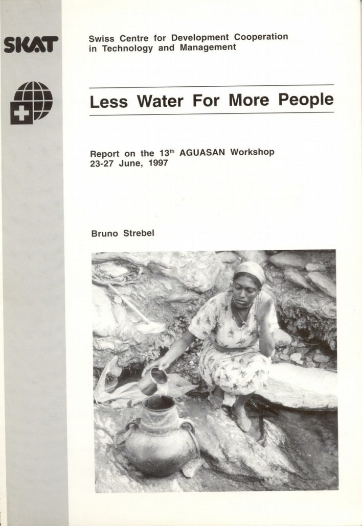 Book Cover: Less Water for More People