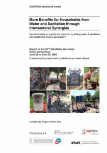 Book Cover: More Benefits for Households from Water and Sanitation through Intersectoral Synergies