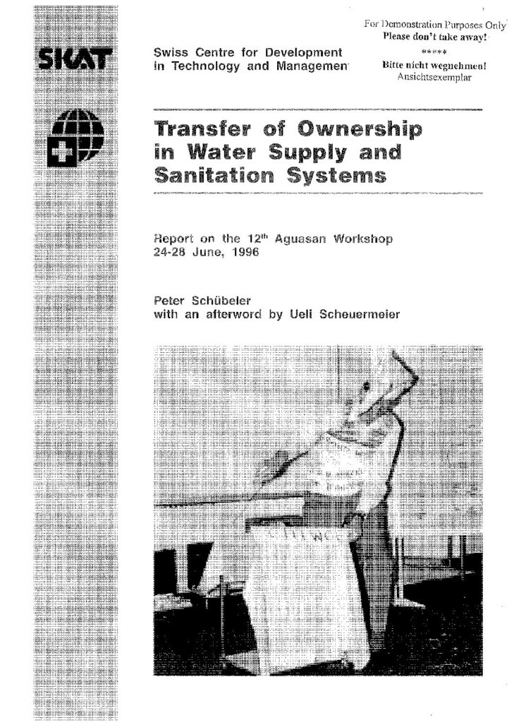 Book Cover: Transfer of Ownership in Water Supply and Sanitation Systems