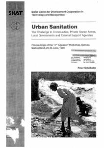 Book Cover: Urban Sanitation