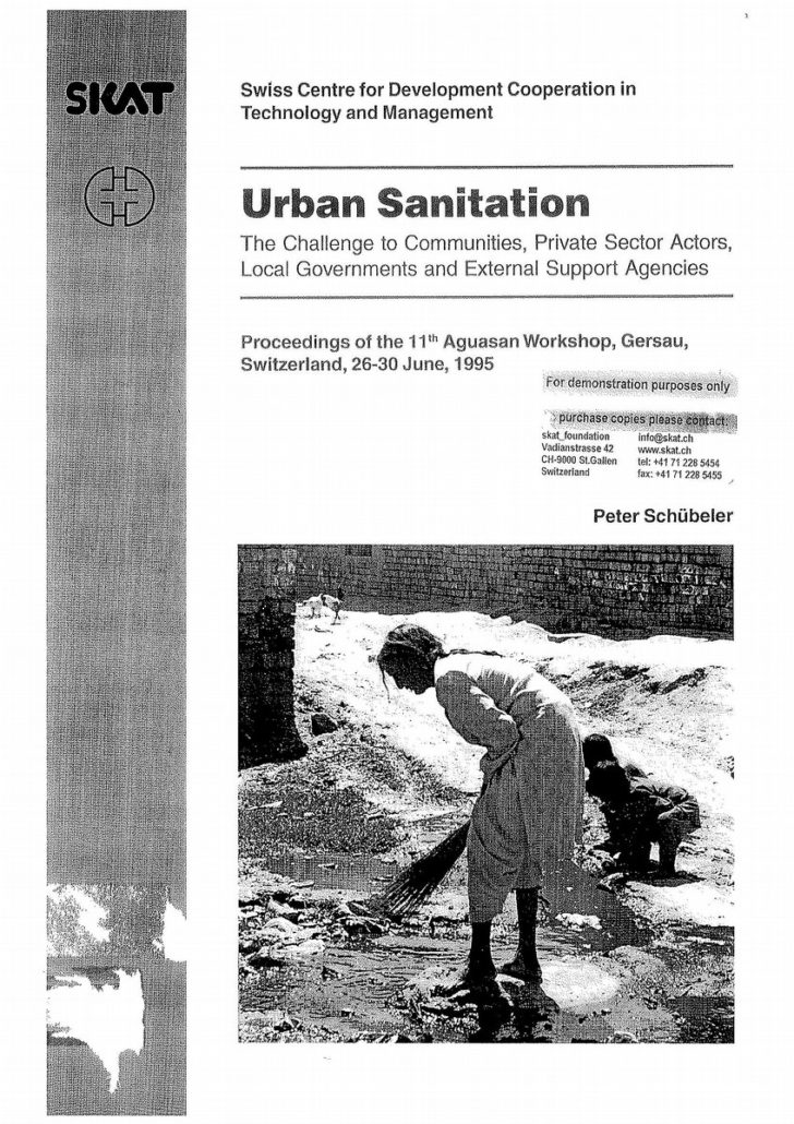 Book Cover: Urban Sanitation