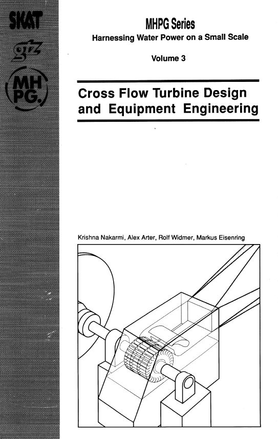 Book Cover: Cross Flow Turbine Fabrication (Volume 4)