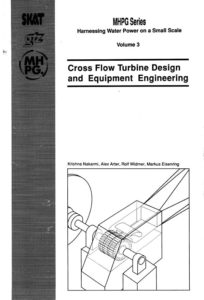 Book Cover: Cross Flow Turbine Design (Volume 3)