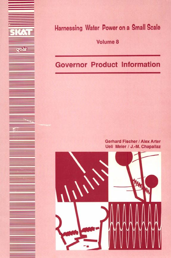 Book Cover: Governor Product Information (Volume 8)
