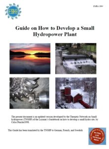 Book Cover: Guide on How to Develop a Small Hydropower Plant (Part1 )