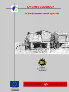 Book Cover: Laymans Guidebook on how to develop a small hydro site (2nd Edition)