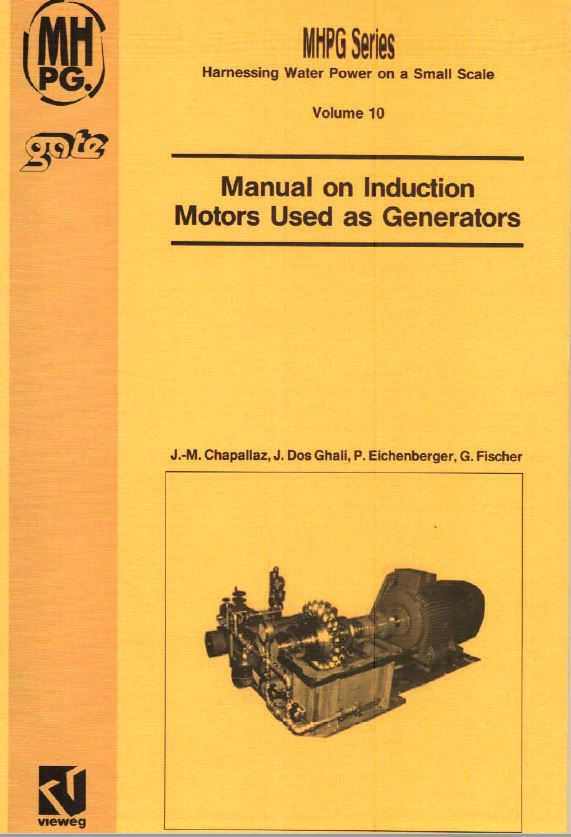 Book Cover: Manual on Induction- Motors used as Generators (Volume 10)