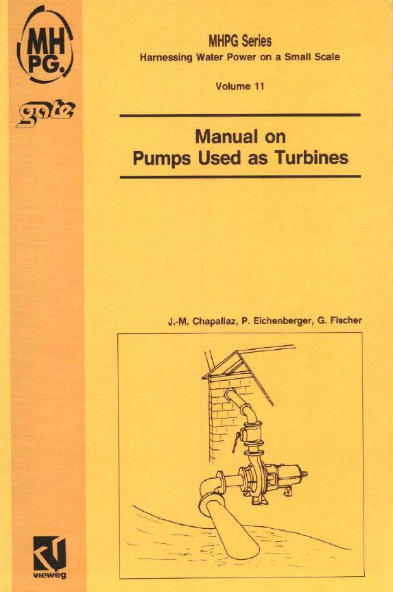 Book Cover: Manual on Pumps used as Turbines (Volume 11)