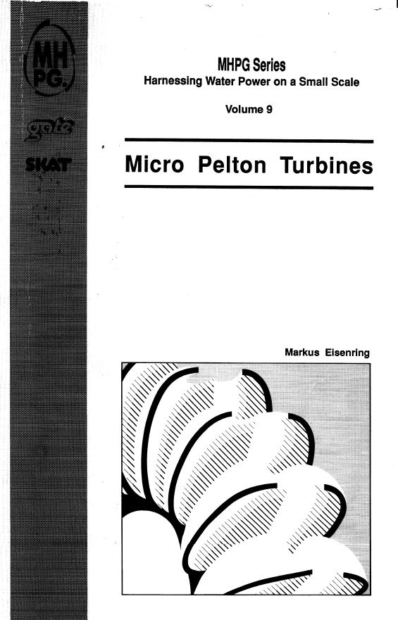 Book Cover: Micro Pelton Turbines (Volume 9)