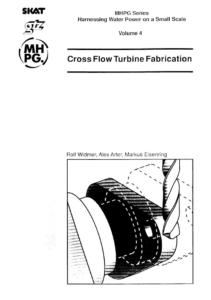 Book Cover: Cross Flow Turbine Fabrication (Volume 4)