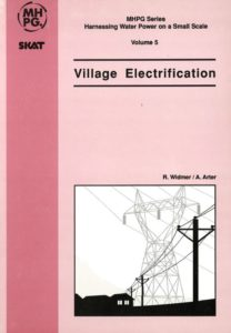 Book Cover: Village Electrification (Volume 5)