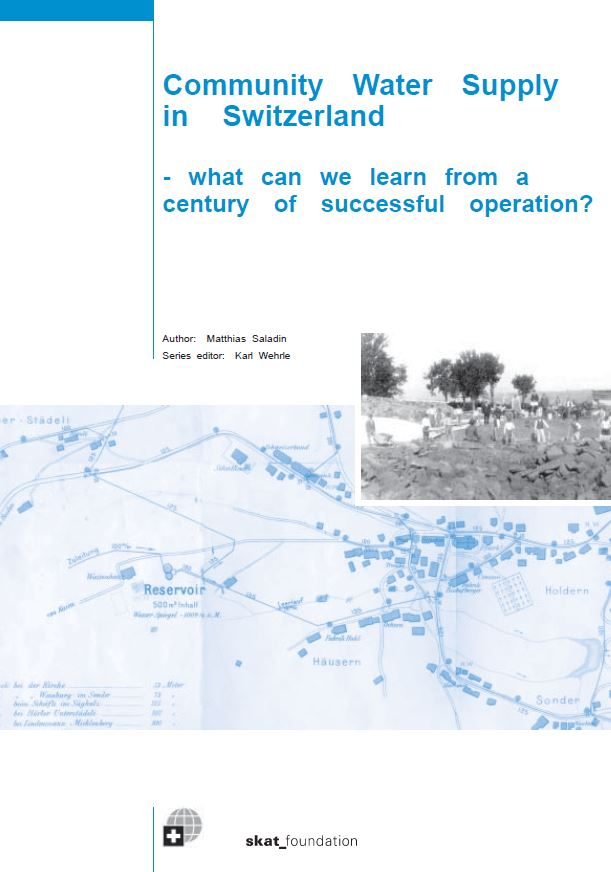 Book Cover: Community Water Supply in Switzerland