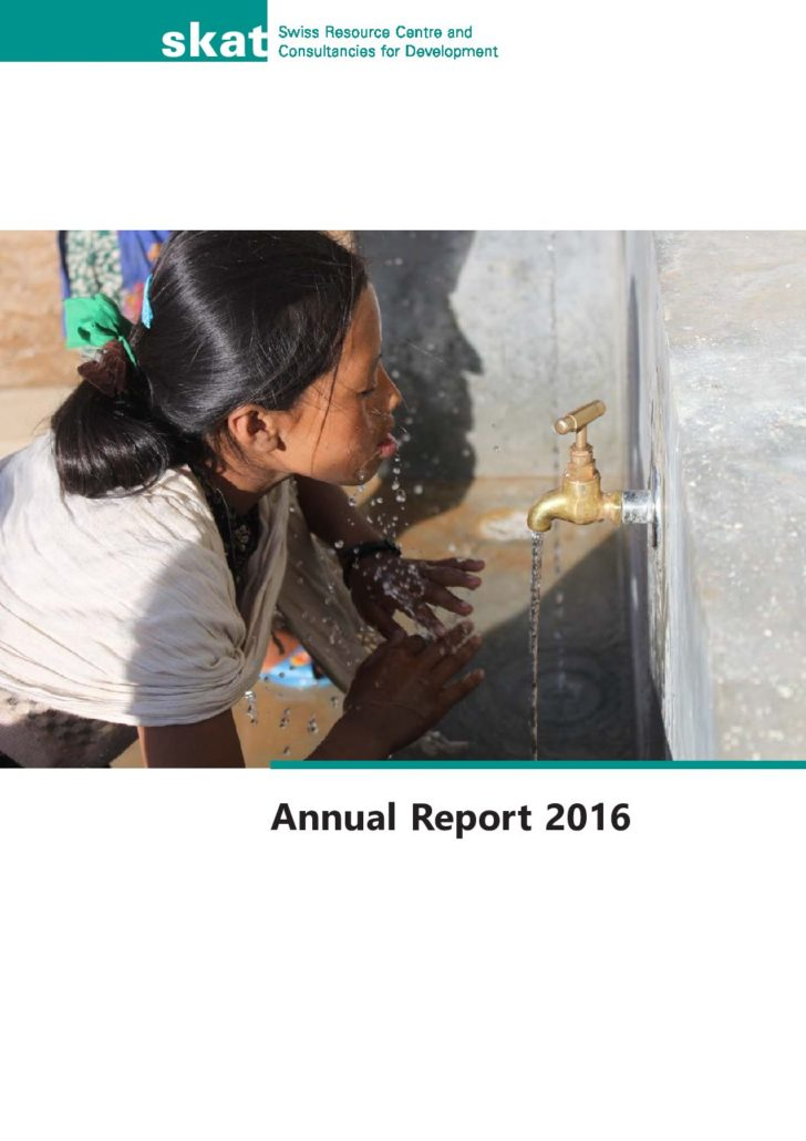 Book Cover: Annual Report 2016