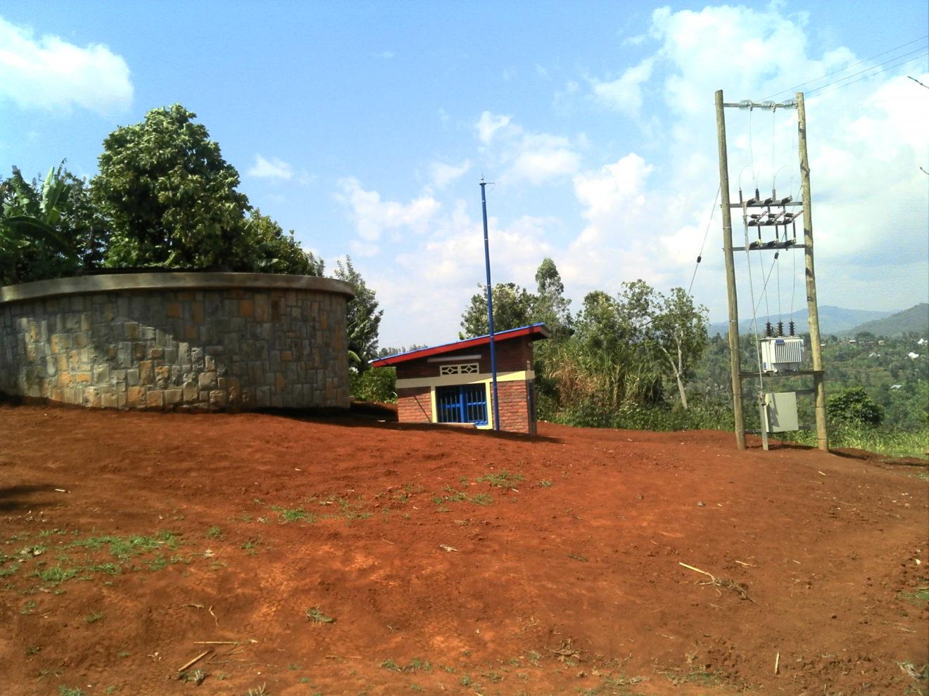 Zone de Pompage-Ninzi Nyamasheke