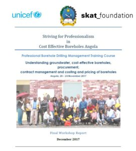 Book Cover: Angola Training Course Report 2017