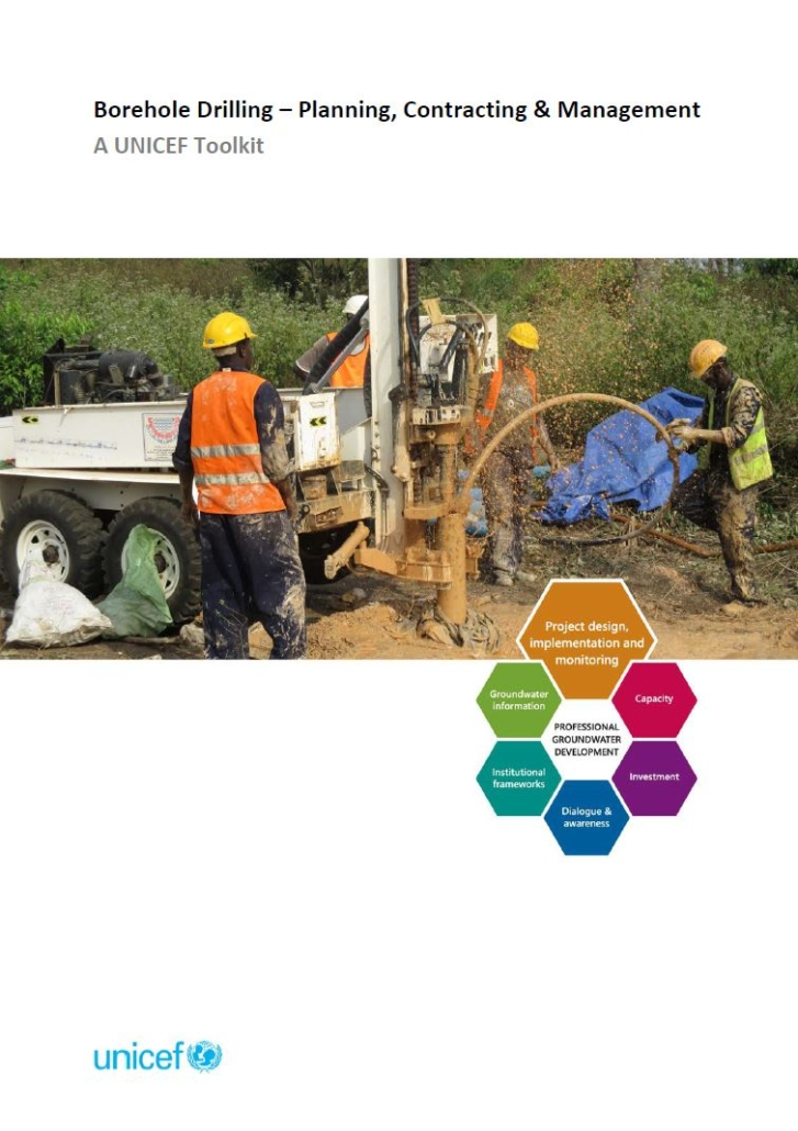 Book Cover: Borehole Drilling - Planning, Contracting and Management: A UNICEF Toolkit
