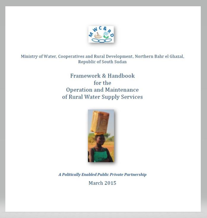 Book Cover: Framework & Handbook for the Operation and Maintenance of RWSS