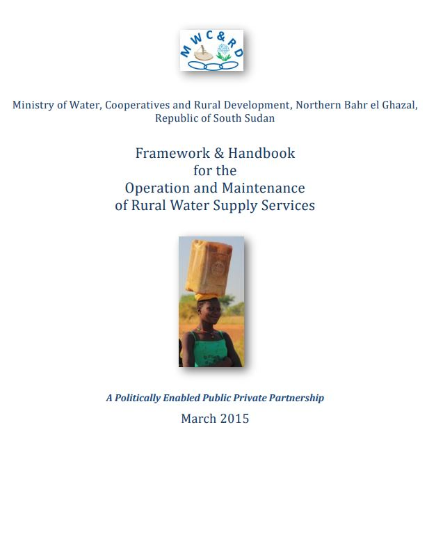 Book Cover: Framework & Handbook for the Operation and Maintenance of RWSS