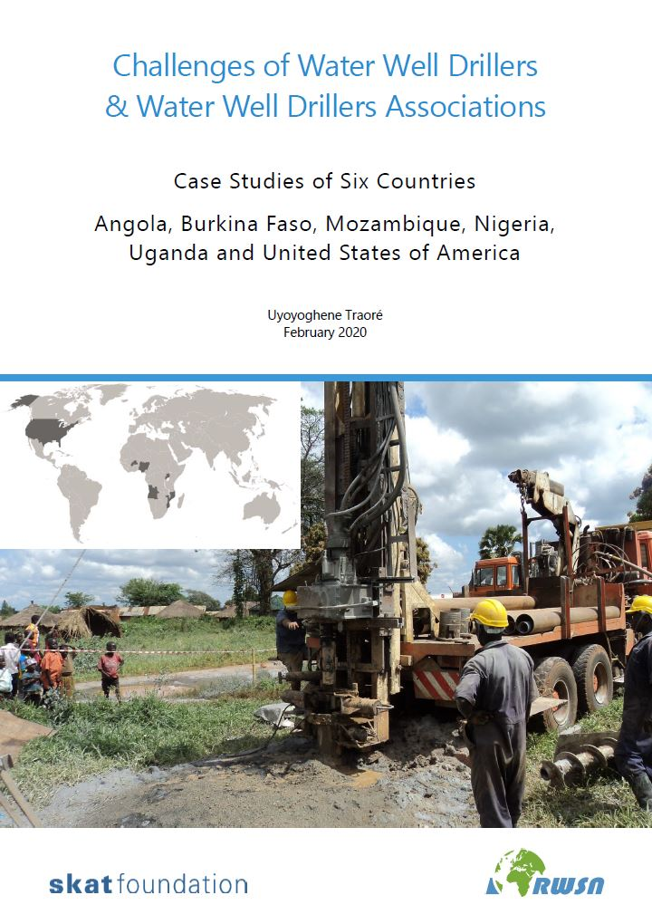 Book Cover: Challenges of Water Well Drillers & Water Well Drillers Associations
