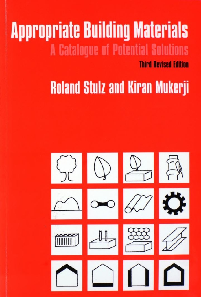Book Cover: Appropriate Building Materials