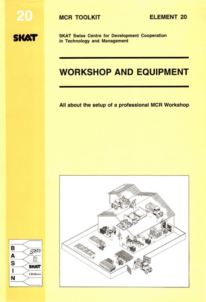 Book Cover: Workshop and Equipment